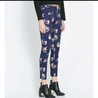 Zara Floral Long Pants