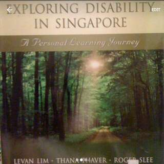 Book On Exploring Disability In Singapore