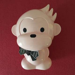 Pink Monkey Coin Bank