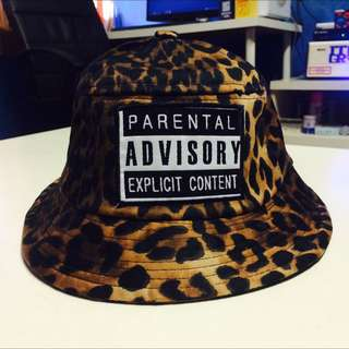 ADVISORY 豹紋漁夫帽