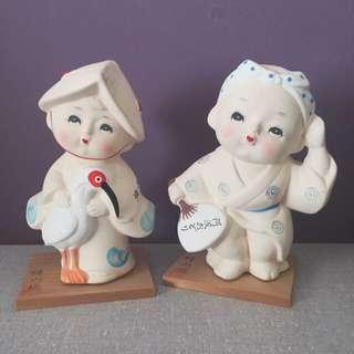 Japanese Ceramic Dolls