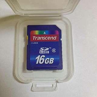 創見Transcend-HCSD卡 16G Class6