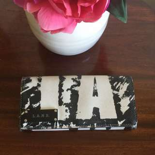 L.A.M.B Black/white Wallet