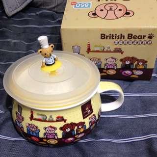 英國熊微波胖胖杯