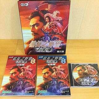 PC信長之野望烈風傳中文版/1999年/含攻略本