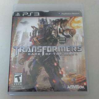 PS3 TRANSFORMERS Dark Of The Moon