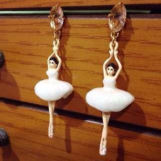 Les Nereides 芭蕾女伶耳環