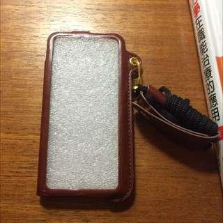iPhone5 5s 手機殼 保護殼 保護套 手機套 掛繩 吊繩 掛脖 皮革