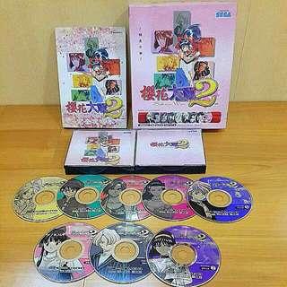 PC櫻花大戰2中文版/1998年/含攻略本