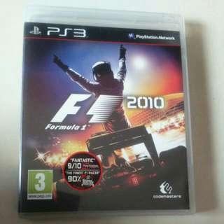 PS3 Formula 1 2010