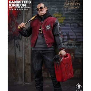 LAST REDUCTION! $220 to $200! Gangsters Kingdom Spade 2 Nelson (Limited Production) DAM TOYS
