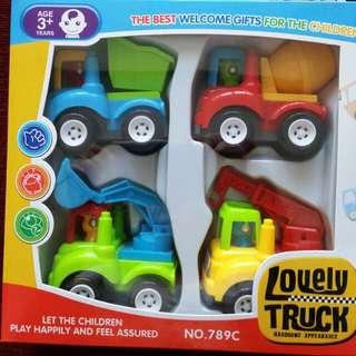 Trucks Playset
