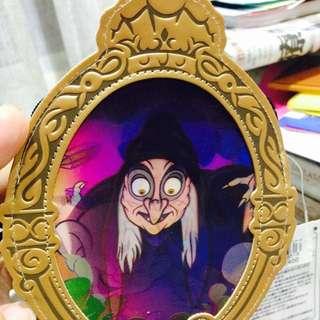 迪士尼Disney 白雪公主3D圖案*證件夾x悠遊卡套