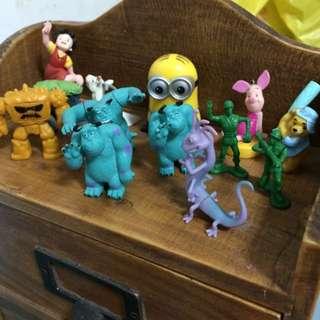 玩具總動員✨怪獸電力公司✨跳跳馬✨維尼✨宮崎駿✨小小兵