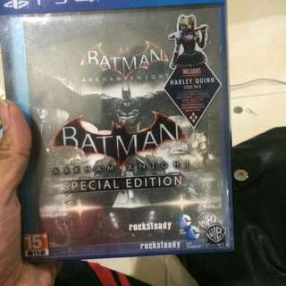 Ps4 Batman Arkam Knight Special Edition Used