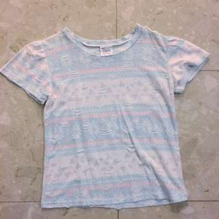 Sweet Pastel Tribal Top
