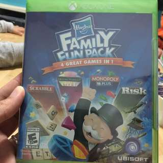 Free Mailing! Brand New Xbox One Game Hasbro Family Fun Pack