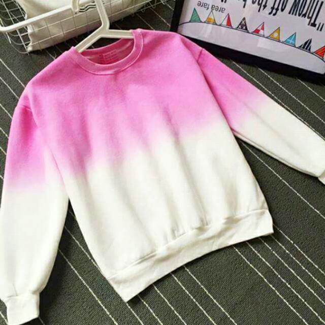 (含運)日系風格渲染可愛衛衣💗粉色