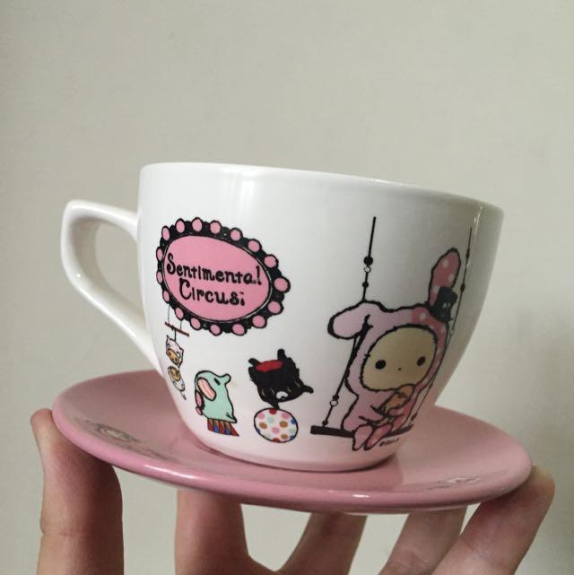 待面交)咖啡杯杯盤組