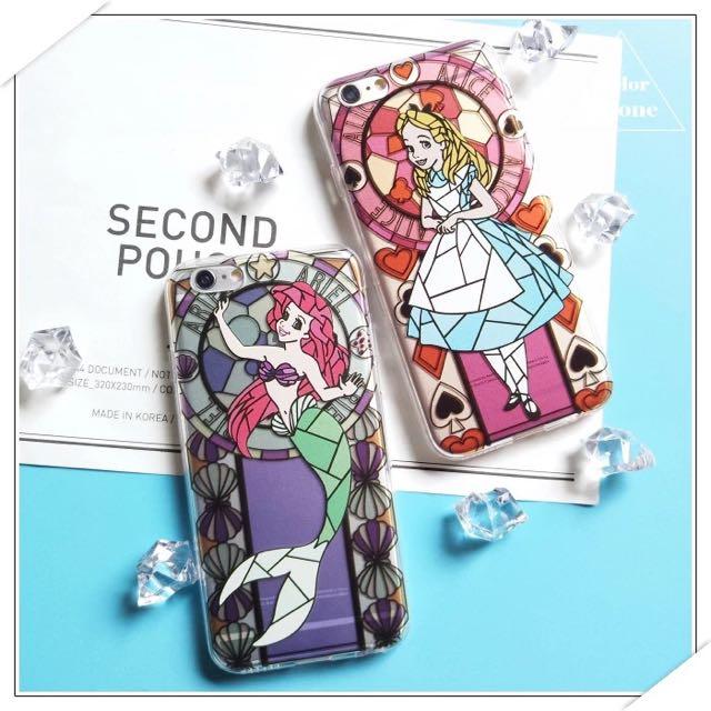 [預購]愛麗絲&小美人魚彩繪手機殼