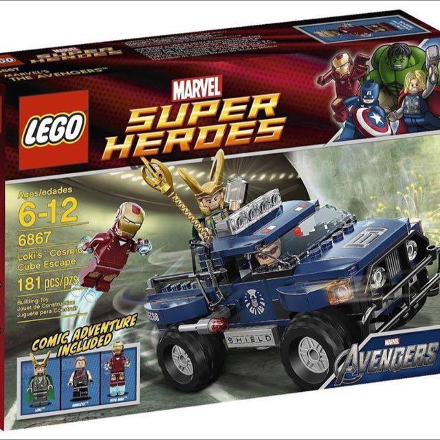 全新未拆 Lego6867