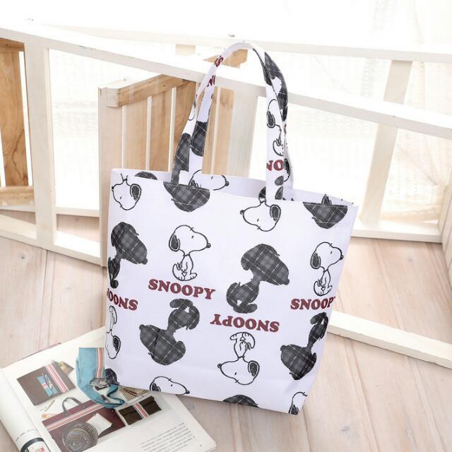 史努比 Snoopy 手提袋 購物袋 便當袋
