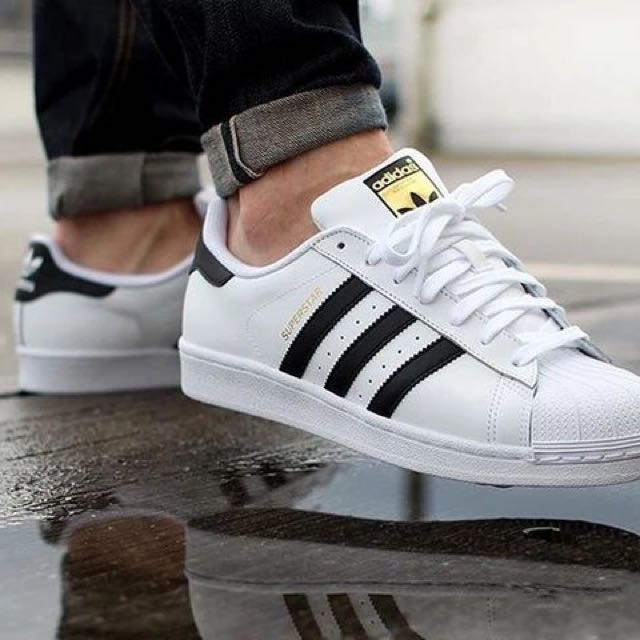 Adidas Original Superstar 金標