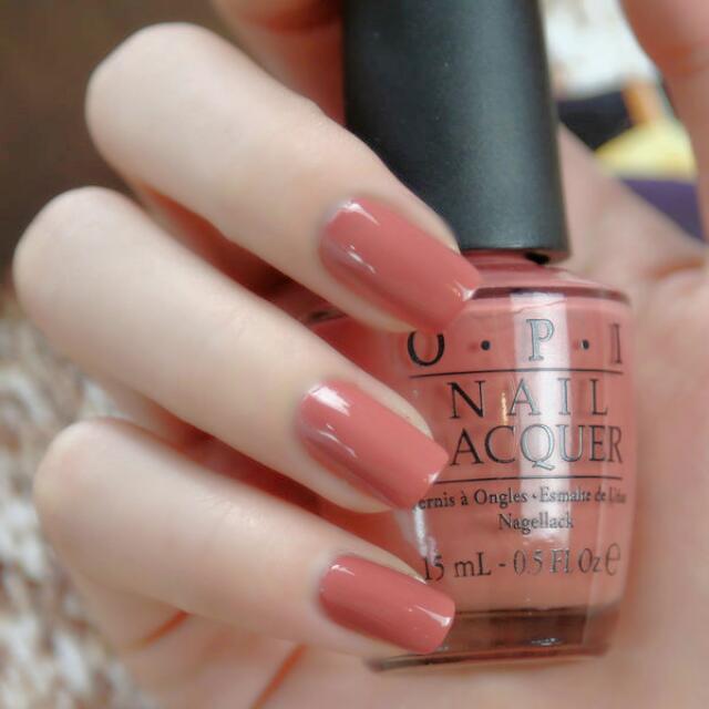 Opi Nail Polish Mauve Color: AUTHENTIC OPI (Java Mauve.a) & RIMMEL (Lose Your Lingerie