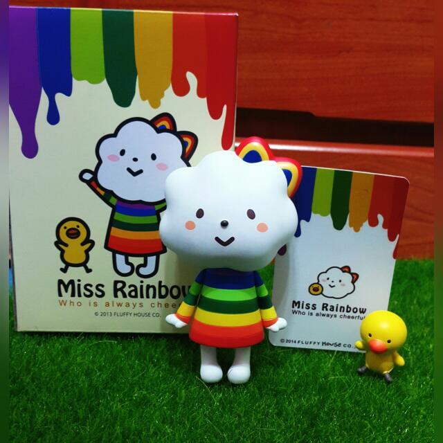 Fluffy House Miss Rainbow 彩虹妹妹🎊