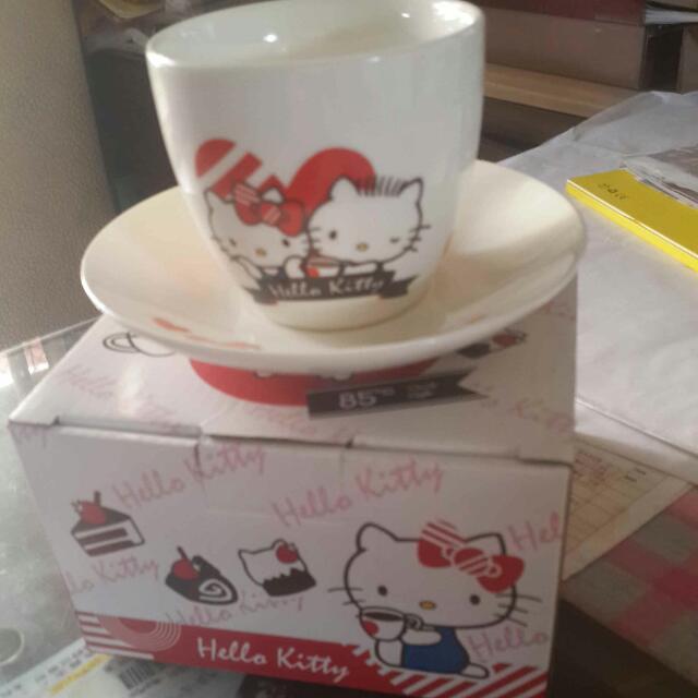 Hello kitty 85度c 咖啡杯