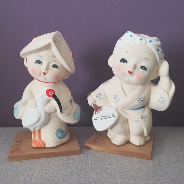 Japanese Ceramic Dolls