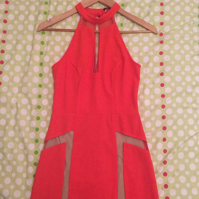 LUMIER Tangerine Gown