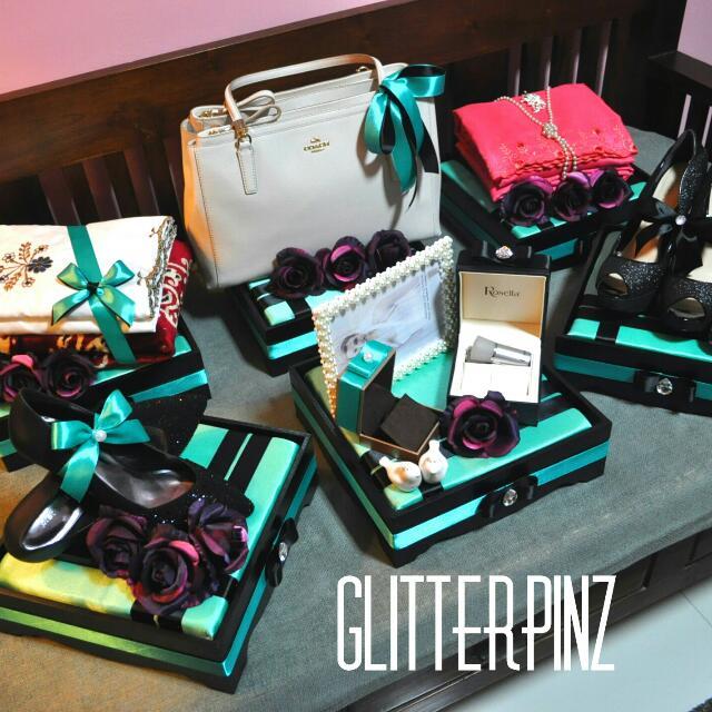 Wedding Gift Singapore: Malay Wedding Gift Trays / Gubahan Hantaran / Nikah