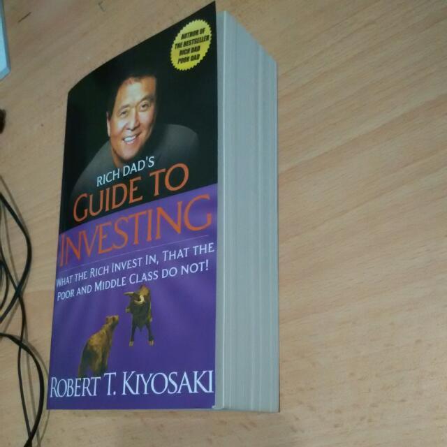 Robert T Kiyosaki Guide To Investing Books Stationery On Carousell