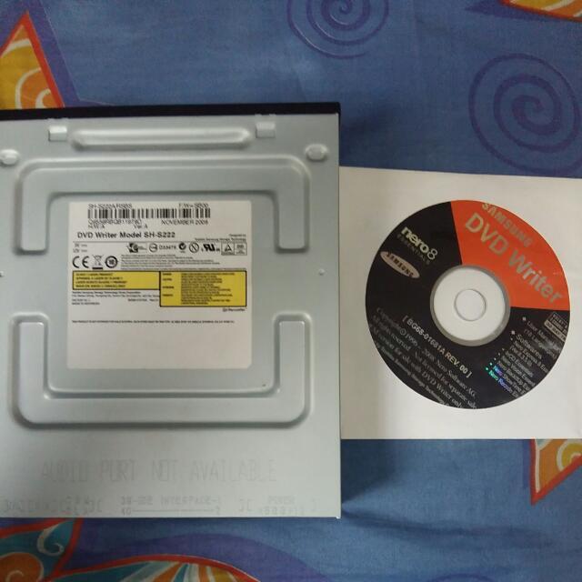 Samsung Dvd Writer Model SH-222