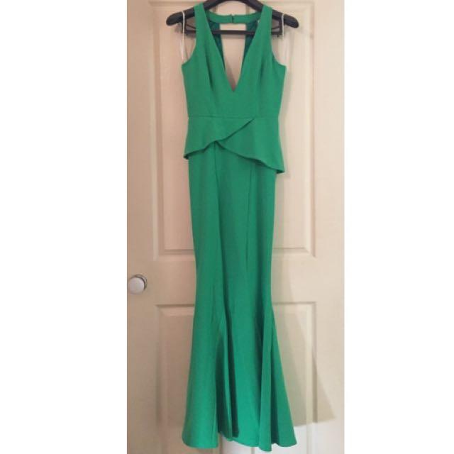 SHEIKE Green Gown