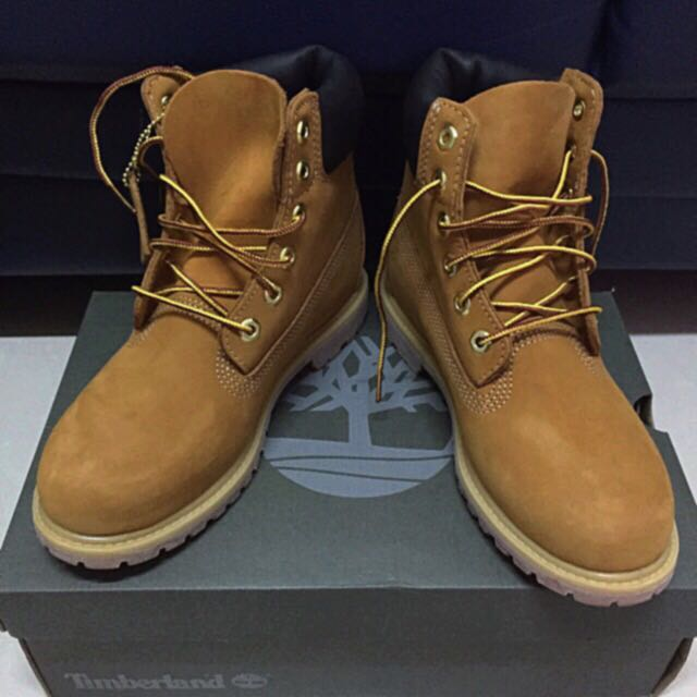 sale uk fast delivery cheap for discount Timberland黃boot Size 38 100%新 $1200