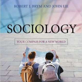 Sociology: Your Compass For A New World SC1101E