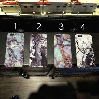 iphone 歐美風 大理石 石英手機殼 四款