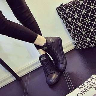 🆕 Black High Top Shoes (Winter Boots) (waterproof )  (Ready Stock) (New)