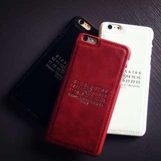 iphone 歐美風 簡約皮革壓紋質感 手機殼