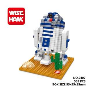 智鷹WISEHAWK💎鑽石積木《星際大戰系列》R2-D2