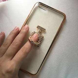 iPhone 6/6s Plus金色手機殼