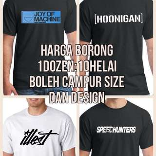 Printed Tshirt Motorsport
