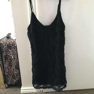 Ninie Black Dress