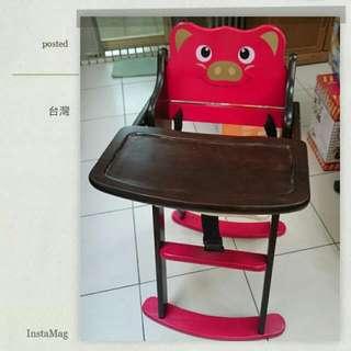 實木寶寶/小童 餐椅