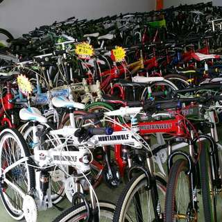 Warehouse Clearance Sales For bicycles And Accessories