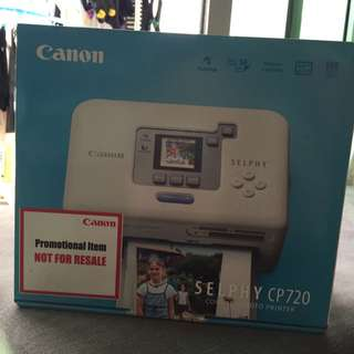 Brand New Canon Selphy Cp720