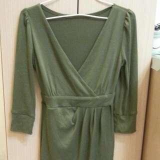 7七分袖洋裝連身裙