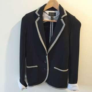 西班牙Mango/ 學院風/ 年輕款式西裝外套/ M號/ 僅穿過一次